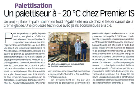 Publication PROCESS ALIMENTAIRE