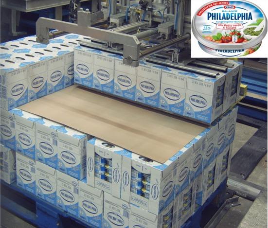 KRAFT Foods sélectionne PALCUT pour la palettisation automatique de ses usines en Europe