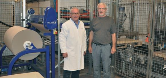 PAL-Cut optimise la palettisation de bouteilles