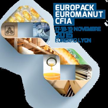 Salon Europack-Euromanut CFIA : nous y serons
